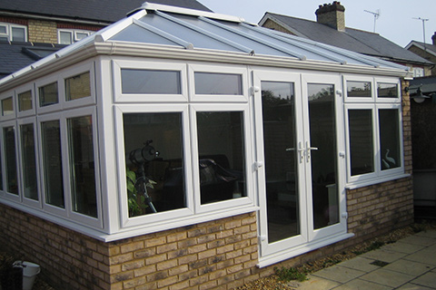 White Conservatory Cambridge | Safeseal Frames