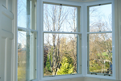 Secondary Glazing White Cambridge | Safeseal Frames