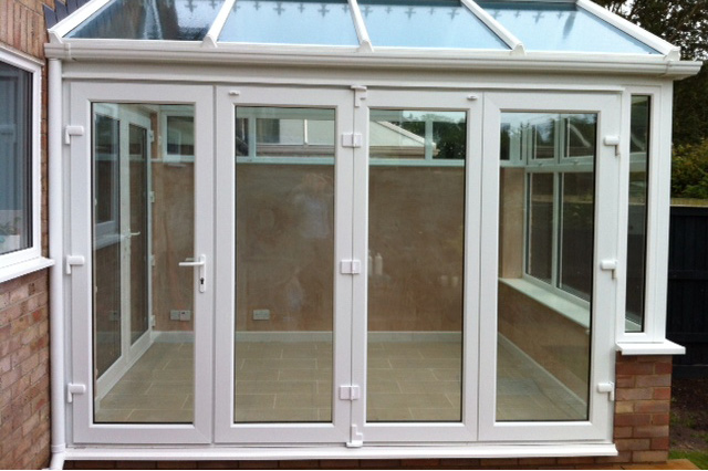 Conservatory Bi-Fold Doors Cambridge