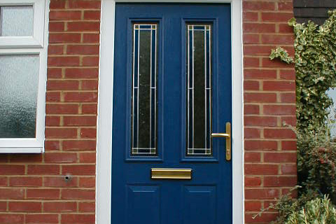 Blue Composite Doors Cambridge | Safeseal Frames