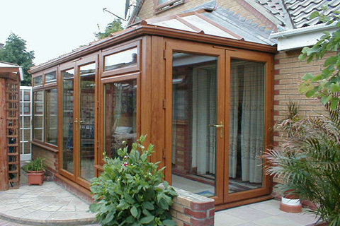 Brown Conservatory Cambridge | Safeseal Frames